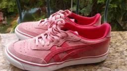Tênis rosa feminino asics original,numeração:35