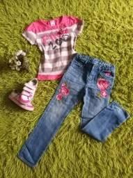 Roupas infantil saia calça tênis blusinha bolero bota Lilica gap