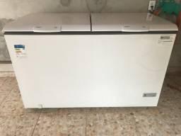 Freezer novo 546 litros na caixa parcelo