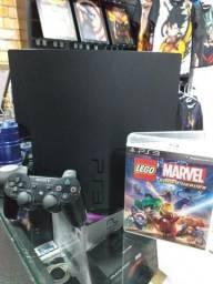 Playstation 3 + jogo lego revisado e com garantia