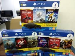 PS4 Slim 1tb + 3 Jogos Nacional Lacrado - Promoção até 15 de novembro