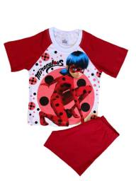 Pijama Infantil Lady Bug - Calor