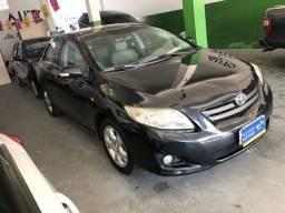 Corolla 2009 XEi automático + couro (Carro extra).