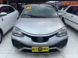 Toyota Etios 2018 + GNV (Único Dono, entrada + 48x 827,00)