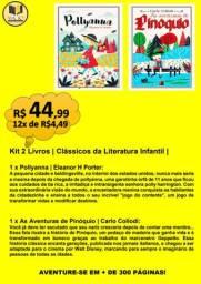 KIT 2 LIVROS | CLÁSSICOS DA LITERATURA