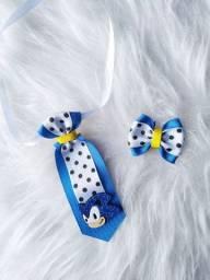 Conjunto Pet Gravata e Laço