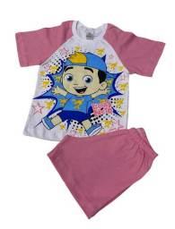 Pijama Infantil Luccas Neto - Calor