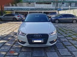 Audi A3 Sportback 1.8 Turbo Tfsi Stronic Completo com Teto,Multimidia,Couro,Rodas 18-2015