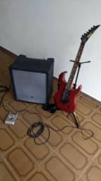 Cubo Staner-Guitarra Phil-Pedaleira Zoom