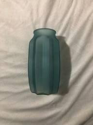 Vaso de vidro decorativo