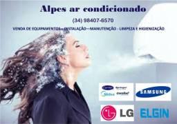 Ar condicionado- Manutenção e Instalação