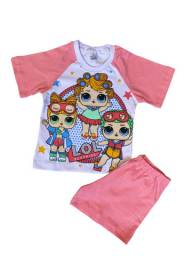 Pijama Infantil Lol - Calor