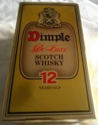 Whisky Dimple De Luxe 12 anos Anos 80