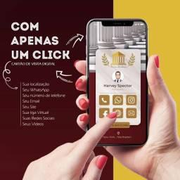 Título do anúncio: Cartão de Visita Interativo Digital