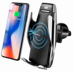 CARREGADOR VEICULAR QI SMART SENSOR WIRELESS CHARGER