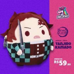 Título do anúncio: Pelúcia Anime Demon Slayer Kimetsu No Yaiba 20cm Tanjiro