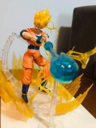 Dragon Ball Super - Boneco articulado Original Bandai - Goku Super Sayajin