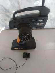 Rádio hpi tf45 3ch para automodelo