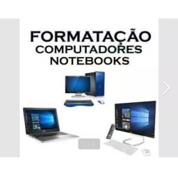 Formatação netbook, notebook, pc