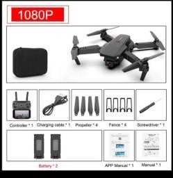 Drone E88 duas baterias 1080p