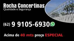 Instalação concertina