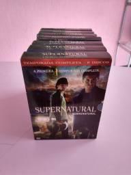 Box dvd série Supernatural