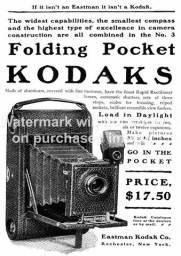 Máquina Fotográfica Kodak A3 do início do Século XX