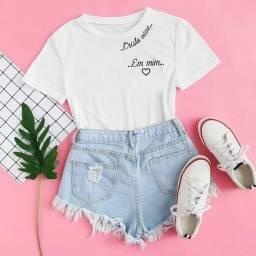 Título do anúncio: T-shirts Feminina