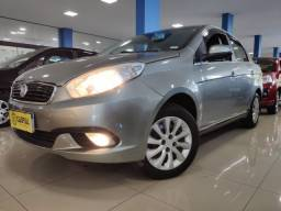 Fiat Grand Siena Attractive 1.4 Cinza 2017