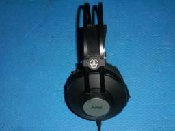 Título do anúncio: Fone de ouvido AKG K72 fechado para estúdio novo com 3 meses de garantia