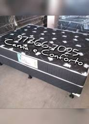 Título do anúncio: CAMA BOX CASAL $379,90 A VISTA OU $419,90 EM ATÉ 10 X. ENTREGA GRÁTIS!!!