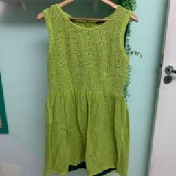 Vestido verde me move Usado