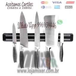 Título do anúncio: Barra Magnética Imã Facas Cozinha Churrasqueira 30cm
