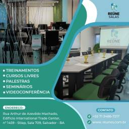 Título do anúncio: Aluga-se Salas para Reuniões, Treinamentos e Coworking.