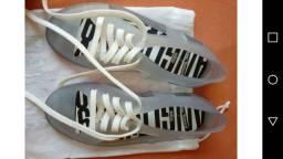 Melissa transparente 35 brighton sneaker