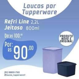 Tupperware - Refri line e Jeitoso