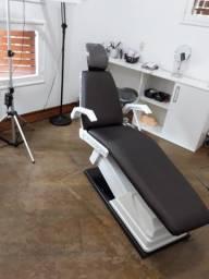 Cadeira semi-automática, adaptada, personalizada para Estética