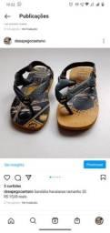 Título do anúncio: Sandália havaianas infantil tamanho 20