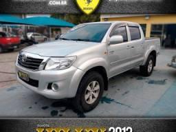 Título do anúncio: Toyota hilux 2012 2.7 sr 4x2 cd 16v flex 4p automÁtico