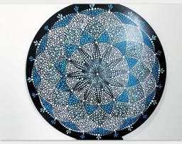 Título do anúncio: Mandala Torus Geometria Sagrada Azul