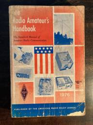 The Radio Amateur's Handbook - livro - 1976