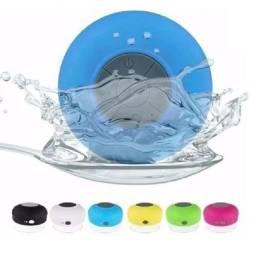 Caixinha Som Bluetooth Portátil Banheiro Piscina Chuveiro