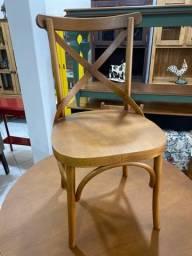 Cadeira e banqueta