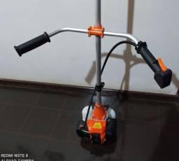 Roçadeira gasolina 42.7 cc lâmina e fio