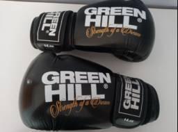 Luvas de Boxe e Muay Thai Green Hills 14Oz