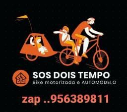 SOS DOIS TEMPO  BIKES MOTORIZADAS E AUTOMODELO