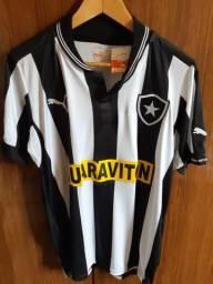 Camisa Oficial Botafogo Listrada Guaraviton nova com etiqueta , Puma tamanho M