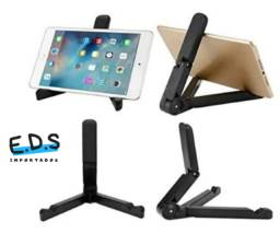 Suporte de Mesa Para Celular e Tablet Dobrável em Diversas Posições
