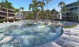Flats a venda Lançamento Beach class em Muro alto 1 e 2 quartos com varanda gourmet