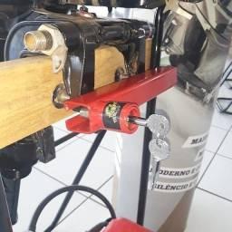 Trava de segurança para motor de popa!